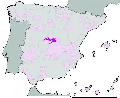 Vinos de Madrid wijnstreek